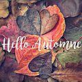 Ma wishlist d'automne