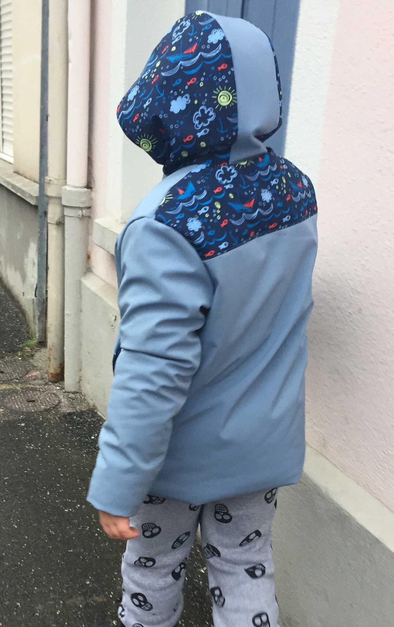 Défi Je couds (ou je tricote) pour un homme #1 : Le manteau magique
