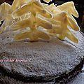 dessert de noël la forêt enchantée
