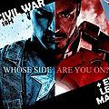 Soirée movie and draw captain america civil war