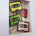 Cadres cassettes Au pays des Cactus
