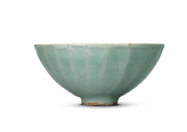 A Longquan celadon 'Lotus Petal' bowl, Southern Song Dynasty, 13th Century