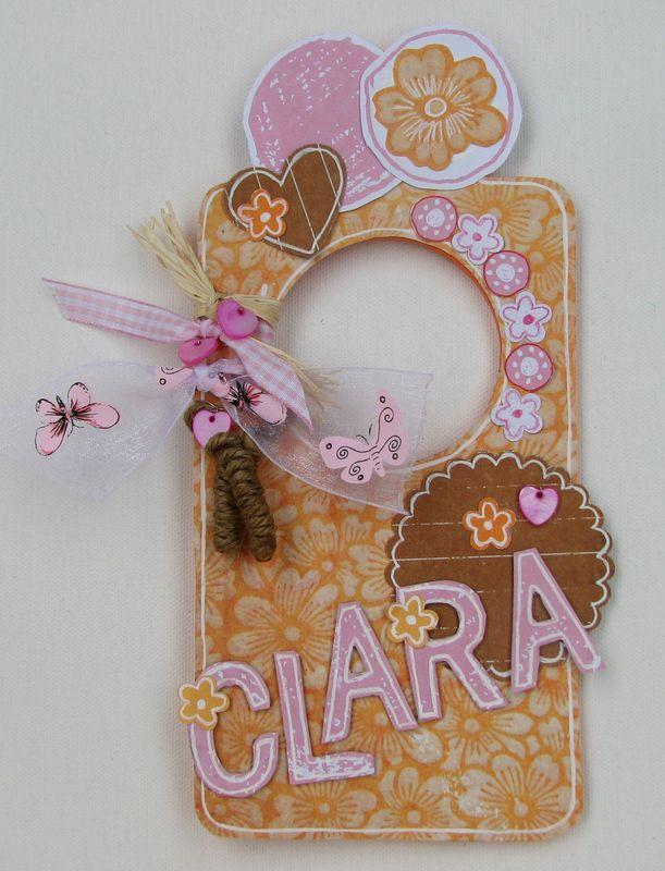 door hanger-Clara