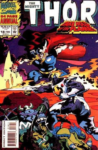 mighty thor 1966 annual 18 1993