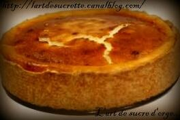 Tarte aux fromages...