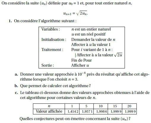 Terminales S - Annales - Exercices de bac S corrigés - 6 - Fonction logatithme népérien et ...