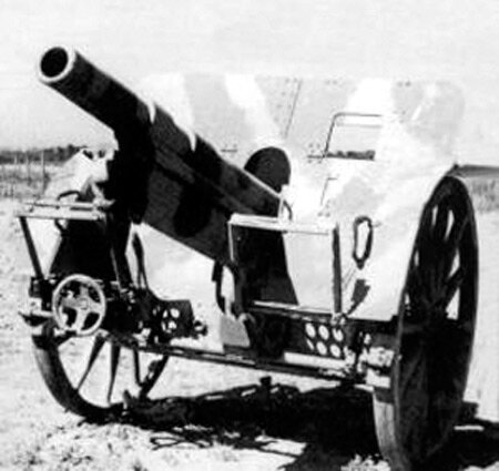 Canon obusier de 100 mm Tchèque