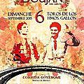 Boujan/libron (34) feria des vendanges 2015 - corrida goyesque