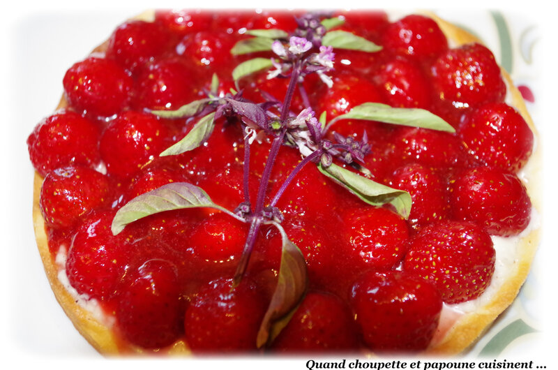 tarte aux fraises crème pâtissière-5198