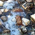 encore un ruisseau gelé