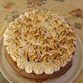Gâteau chantilly chocolat