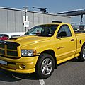 DODGE Ram 1500 4x4 SLT Rumble Bee Sinsheim (1)