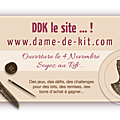 Blog candy dame de kit
