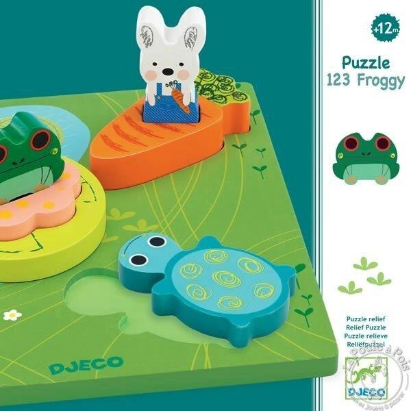 Boutique jeux de société - Pontivy - morbihan - ludis factory - djeco 123froggy