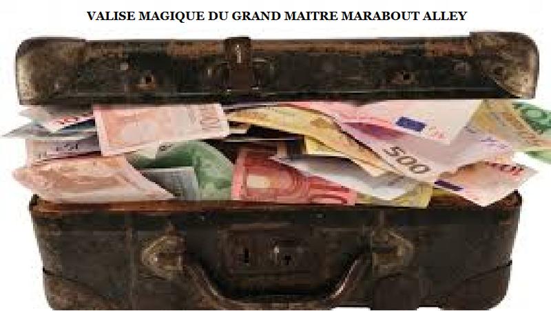 VALISE MAGIQUE DU GRAND MAITRE MARABOUT ALLEY