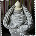 The snood en bride relief