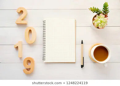 2019-wood-letters-blank-notebook-260nw-1248224119