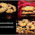 Crousti noix de pécan, noix et chocolat (dairy free/no eggs)