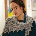 Swallowtail shawl, Interweave Knits
