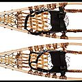 Raquettes de neige huron - snow shoes - kaufmann mercantile