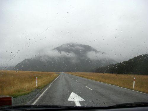 En route pour le Milford Sound
