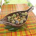 Les mangues de guyane en confiture...