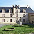 Le château du boistissandeau, aux herbiers (85)