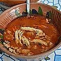 Pozole rouge mexicain