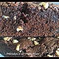 Brownies aux framboises et chocolat blanc