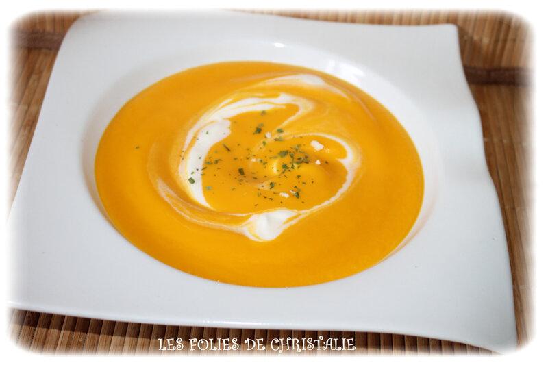 Velouté de carottes 6