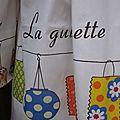 Ciré AGLAE en coton enduit blanc imprimé guinguette (4)