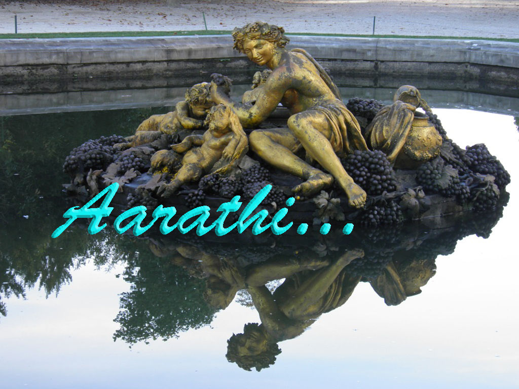 Bacchus / Autumn Fountain, Versailles.