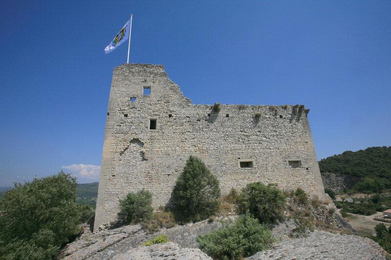 Vaison la Romaine : cité médiévale