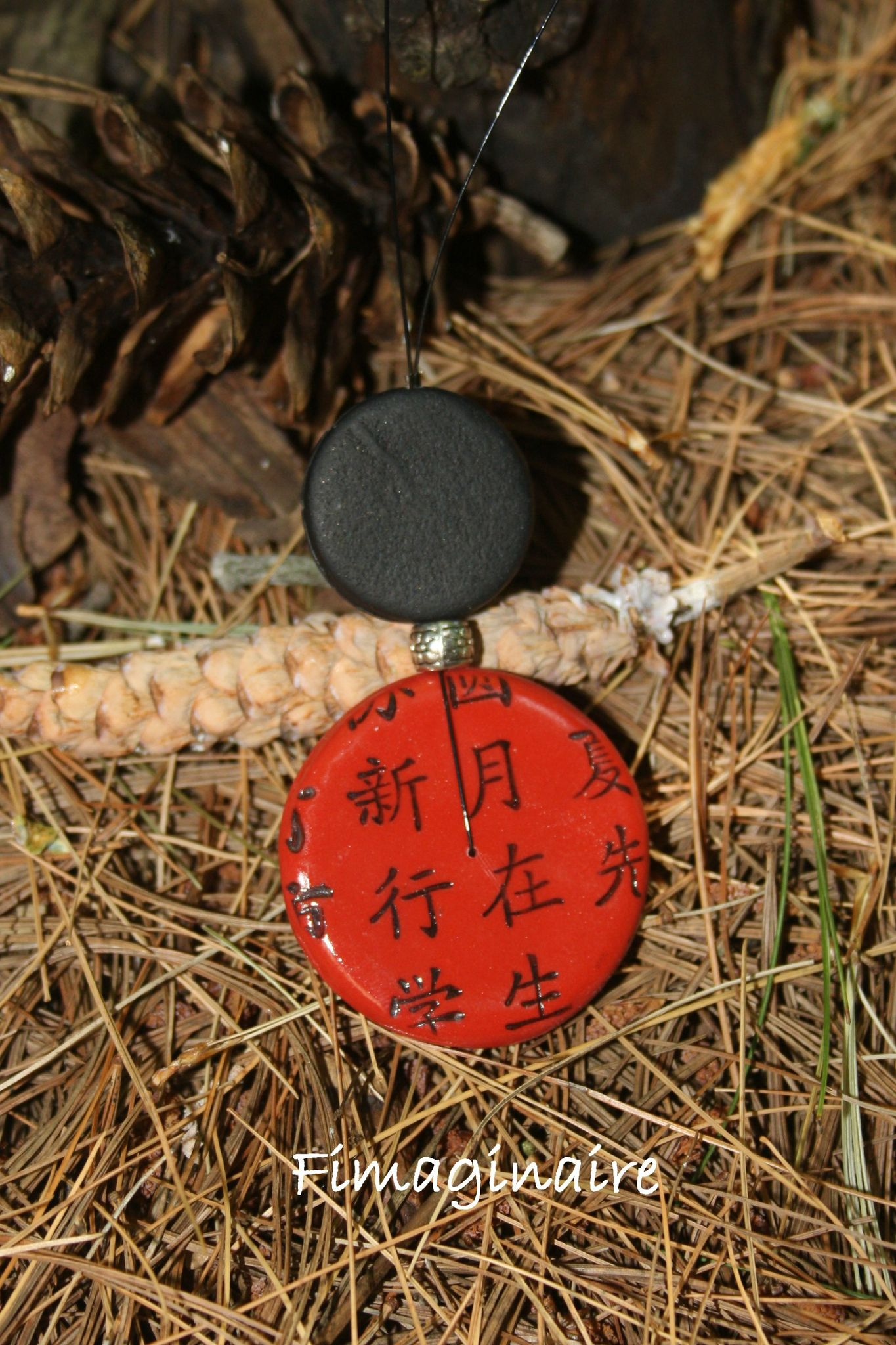 collier ronds chinois - 20$