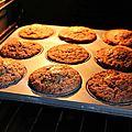Les muffins à l'ovomaltine, c'est de la dynamite!
