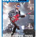 Muse en couverture de direct soir magazine du 10 juin 2010