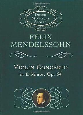 Partition Concerto violon Felix Mendelssohn