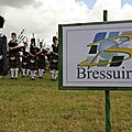 Pipebands: rugby in paris, highland games in bressuire