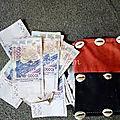 Porte feuille magique multiplicateur d'argent.