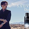 Johnny Depp - Sauvage de Dior