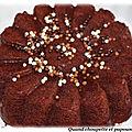Gâteau chocolat-courgettes