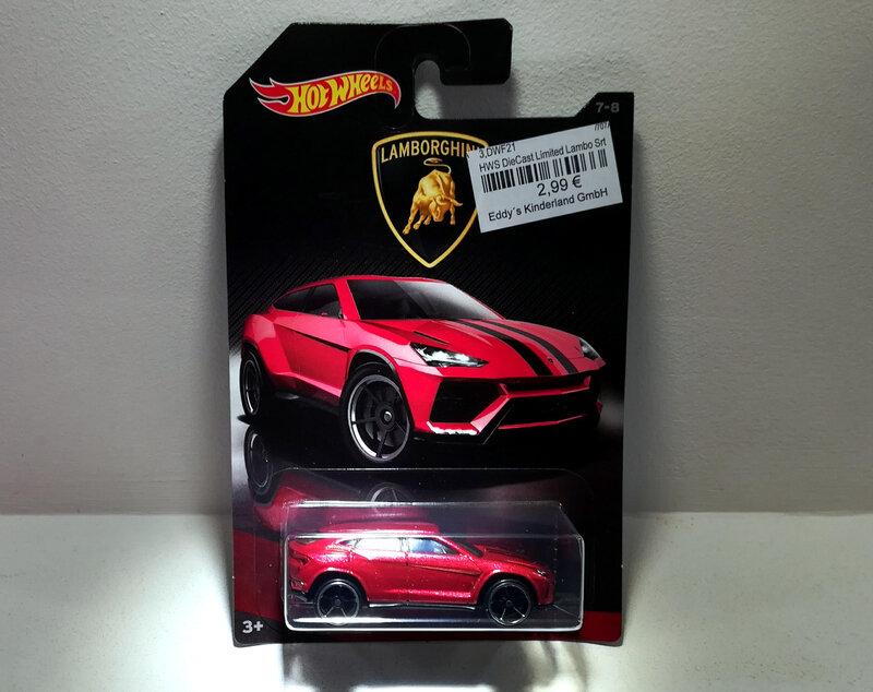 Lamborghini Urus (Hotwheels)
