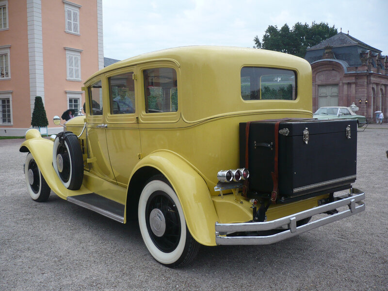 PIERCE ARROW type 55 4door Sedan 1929 Schwetzingen (2)