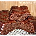 Brownie aux chocolats cerises à la liqueur (thermomix)
