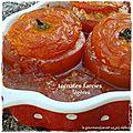 Tomates farcies à la dinde et à la feta