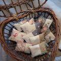 Coton et chanvre de lavande