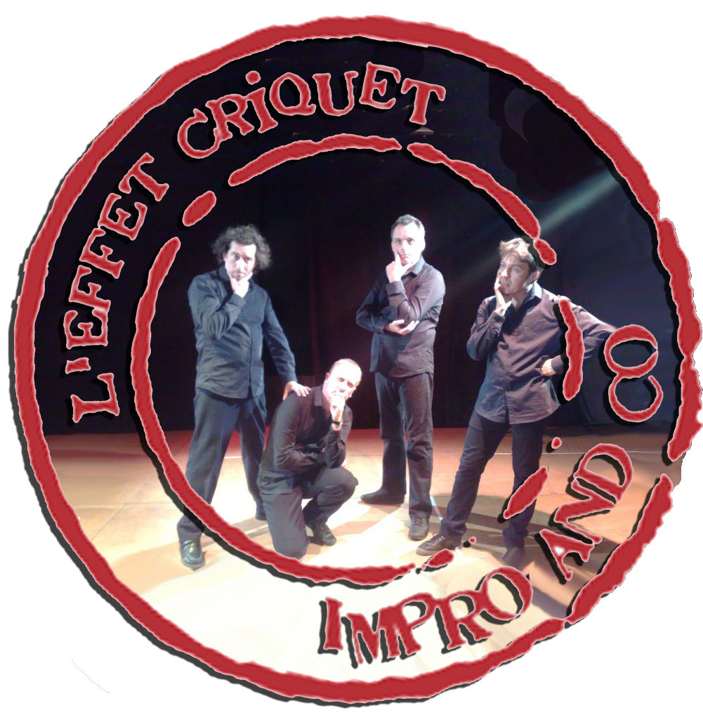 Logo foto effet criquet