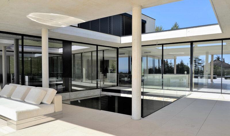 Architecture de maisons contemporaines et villas design en région paca