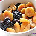 Soupe de fruits d'hiver