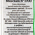 La marseillaise page mesclum